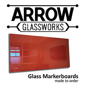 Custom Glassboards by Arrow Glassworks