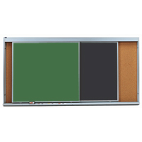 Horizontal Sliding Chalkboards
