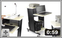 PRC200 Premium Presentation Cart from Oklahoma Sound